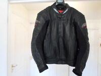 RST Blade Leather Jacket Size 44 uk