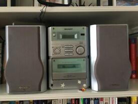 Sharp stereo/hifi/cd player