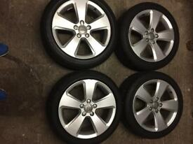 "17"" genuine Audi sport alloys"