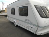 2000 Elddis Typhoon 4 berth, full awning £3300