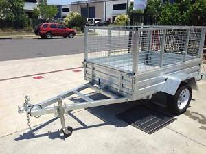 WE BEAT ALL PRICES !  HotDippedGal 6x4 CageTrailer 1500mm Drawbar Coopers Plains Brisbane South West Preview