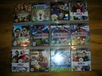 12 x PS3 Games.