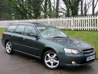 2004 54 Subaru Legacy 4X4 Estate 2.5 i SE Sports Tourer Automatic NEW MOT