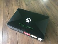 Microsoft Xbox One X 1TB - Project Scorpio Limited Edition - Brand New and Sealed