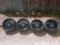"""20"""" bmw alloy wheels"""