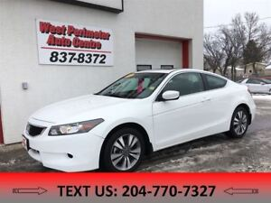 2008 Honda Accord EX-L Coupe **Sunroof**Leather**