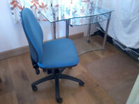 Office Chair - 3-lever adjustable with lumbar support