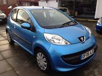 2006 Peugeot 107 1.0 1 lady from new