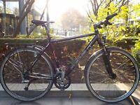 Focus - Professional Touring Bike, Magura Hydraulic Rim Brakes. Full Shimano Deore LX groupset !!