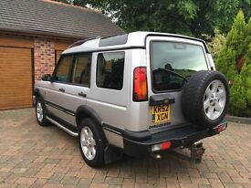 LAND ROVER DISCOVERY TD5 ES MODEL AUTO 7 SEATER FULL LEATHER
