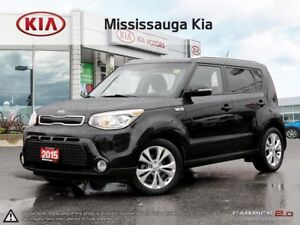2015 Kia Soul EX+ |HTD SEATS|BACK UP CAM|LOW KM