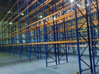 job lot 80 bays redirack pallet racking AS NEW( storage , shelving )