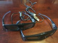 Panasonic TY-EW3D3ME 2 pairs of 3D Glasses