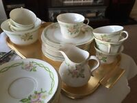 Queen Alexandra Rose China Set