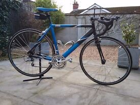 RALEIGH, ALUMINIUM, ROAD BIKE (SIZE 52 cm)