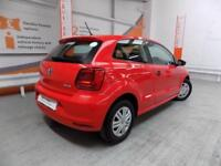 Volkswagen Polo S (red) 2016-01-20