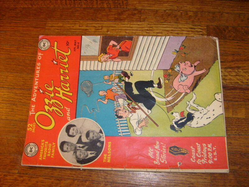 OZZIE AND HARRIET #4, 1950 DC COMIC