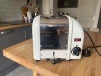 Dualit 2 Slice Classic Vario Toaster White (New Timer Fitted)