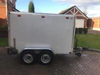 Indespension Twin Axle Braked Box Trailer £2000 ono