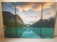 Beautiful Canada Lake Wall Art for sale
