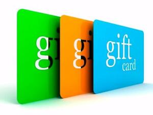 We Buy Gift Cards!