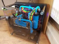 Custom Gaming PC/RIG (Ryzen 1800x,1080 TI,16GB,M2 SSDs,Full Water Cooled,Beast)