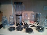 Hinari Genie MB280 blender with all the attachments