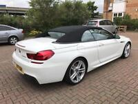 Bmw 640d m sport convertible, low mileage, 1 owner, New 12 Months MOT