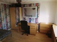 Nice DOUBLE Room in a three bedroom flat, Furnished, Freemantle, SOUTHAMPTON