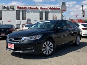2014 Honda Accord Sedan EX-L V6 - Leather - Sunroof - Rear Camer