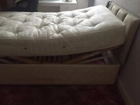 Single Mobility Raising Bed with Mattress