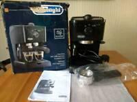 DeLonghi EC146.B espresso and cappuccino coffee maker - Amazon refurbished
