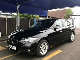 BMW 116i SE TURBO 1 SERIES 2012 NEW SHAPE HPI CLEAR BLACK PX SWAP
