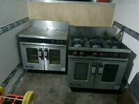 Ovens and burners