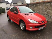 IMMACULATE 2006 PEUGEOT 206 1.4 VERVE, VERY LOW MILES, SERVICE HISTORY, NEW MOT.