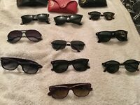 Designer sunglasses genuine ray bans oakley prada and more