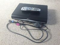 Sky +hd box with hdmi cable and remote.
