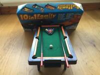 10 in 1 family mini sports table