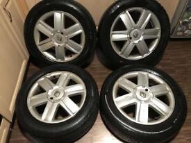 "16"" 4x100 Renault Alloy Wheels"