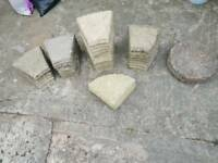 Patio stones for circles