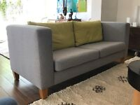 Designer sofas in grey flannel