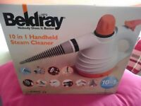 Beldray 10-in-1 Handheld Steam Cleaner Brand New in Box