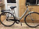 """Dawes Harlem hybrid bike. 16"""" Frame. 700cc Wheels. 3 gears. Fully working Strong bike"""