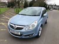 2009 Vauxhall Corsa 1.4 i 16v Design 5dr (a/c) Full Service History Fully HPI Cear @07541423568@
