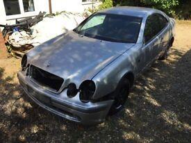 1998 Mercedes Benz Clk W208 spares or repairs