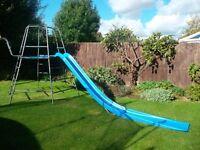 TP climbing frame, slide and slide extension