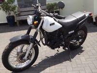 Yamaha TW225 motorbike