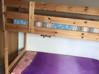 Ikea Bunk Bed with 2 Mattress for Sale