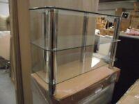Glass tv stand (medium)