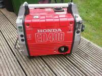 Honda ed400 dedicated 12v and 24v battery charger generator campervan boat caravan etc